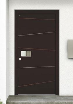 Haustüren Holz Aluminium