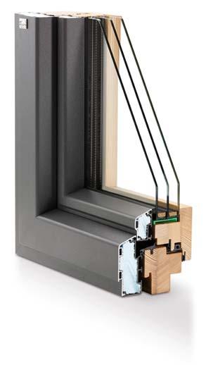 Niveau Passivhaus Holz-Aluminiumfensterkombi royal_plus_sr